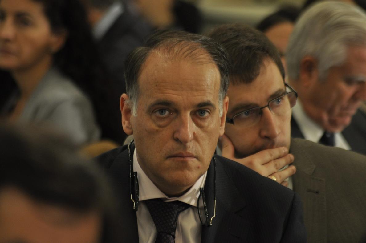 Tebas, sobre la FIFA: «Si Villar no sabía nada a lo mejor es un poco torpe»
