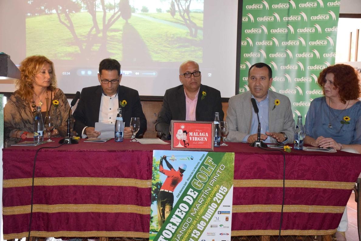 La Junta muestra su apoyo al V Torneo de Golf Fernando Martín Pinto en beneficio de la Fundación Cudeca