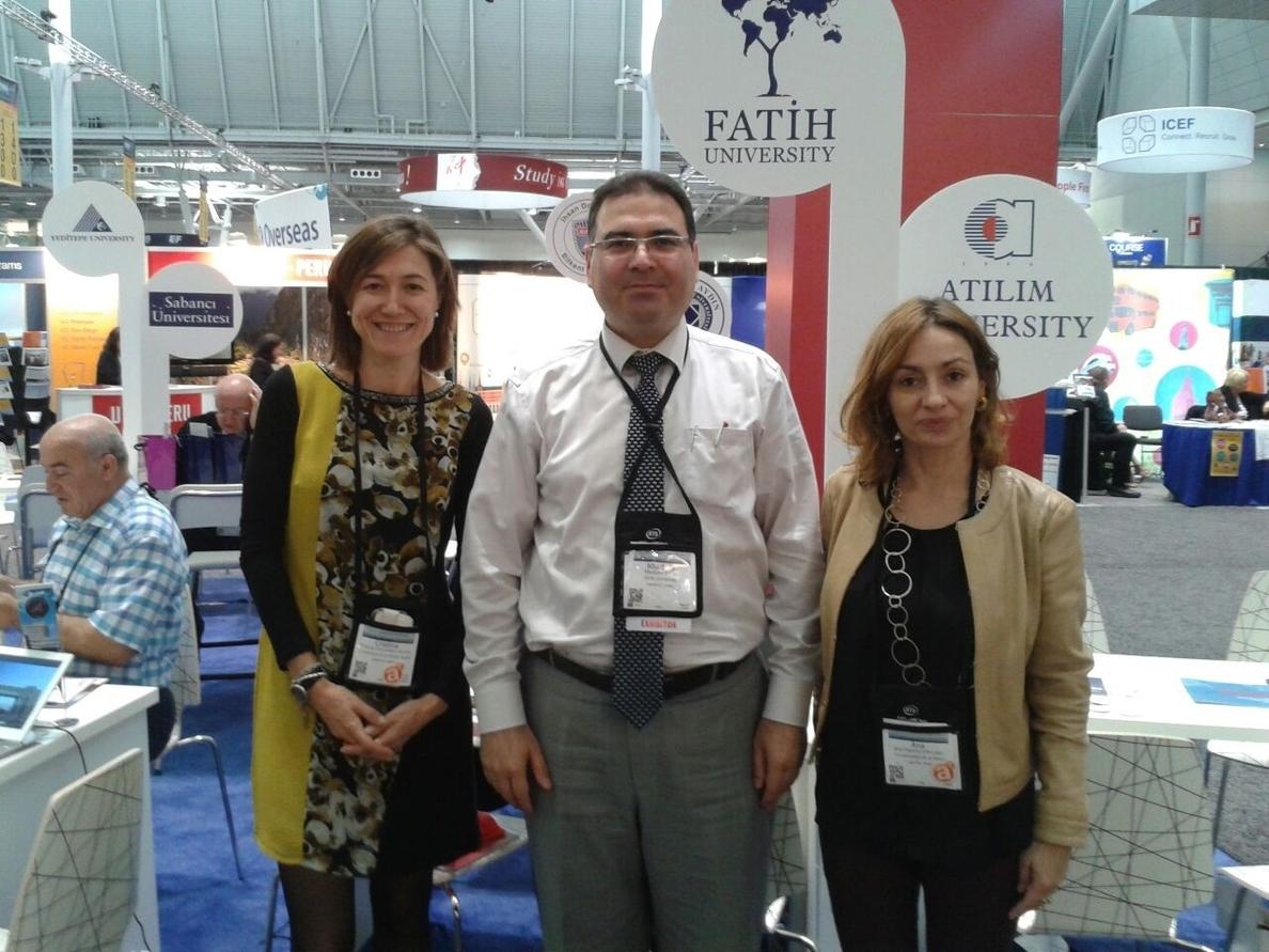 La Universidad de La Rioja participa en la Conferencia y Exposición Anual NAFSA 2015 en Boston (EE UU)