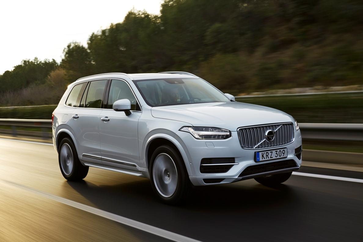 Volvo llama a revisión cerca de 200 modelos del XC90 en la UE y EEUU