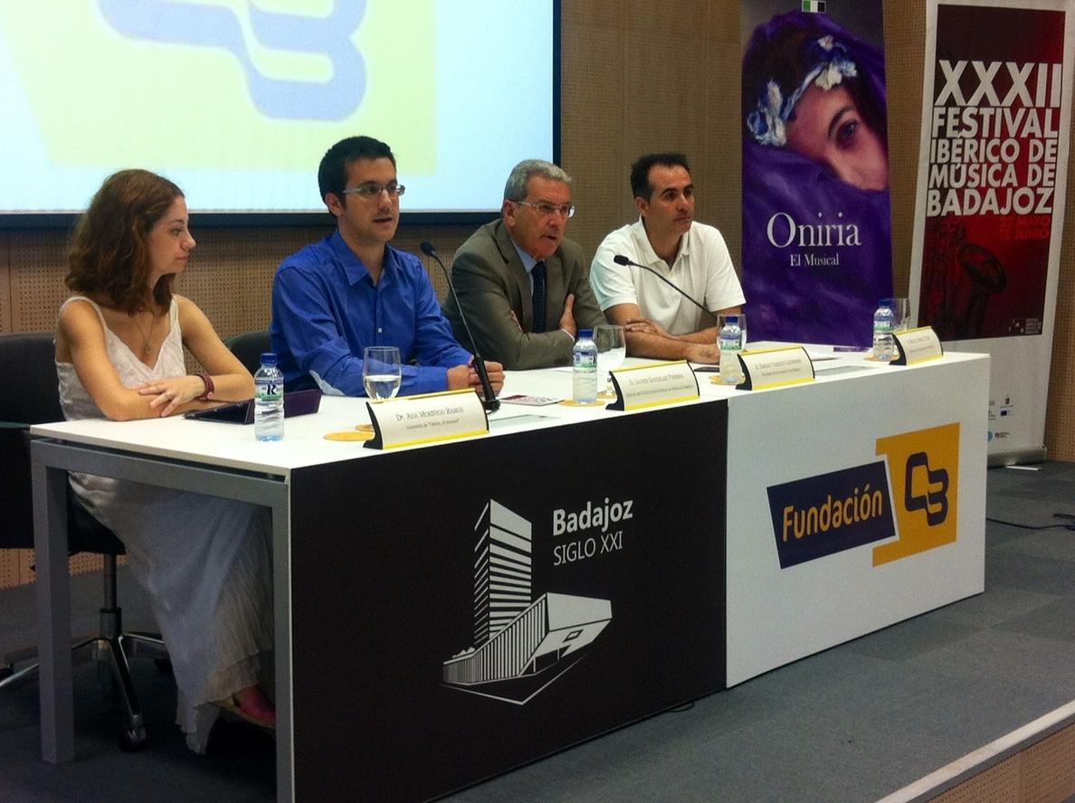 Más de 100 jóvenes músicos y bailarines actuarán en el espectáculo »Oniria, el musical» en Badajoz