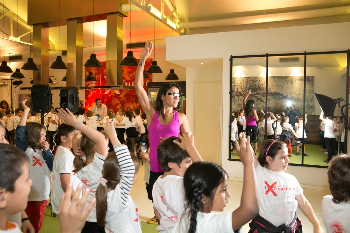 Más de 400 consumidores participan en los talleres, »showcookings» y clases de fitness de Nueces de California