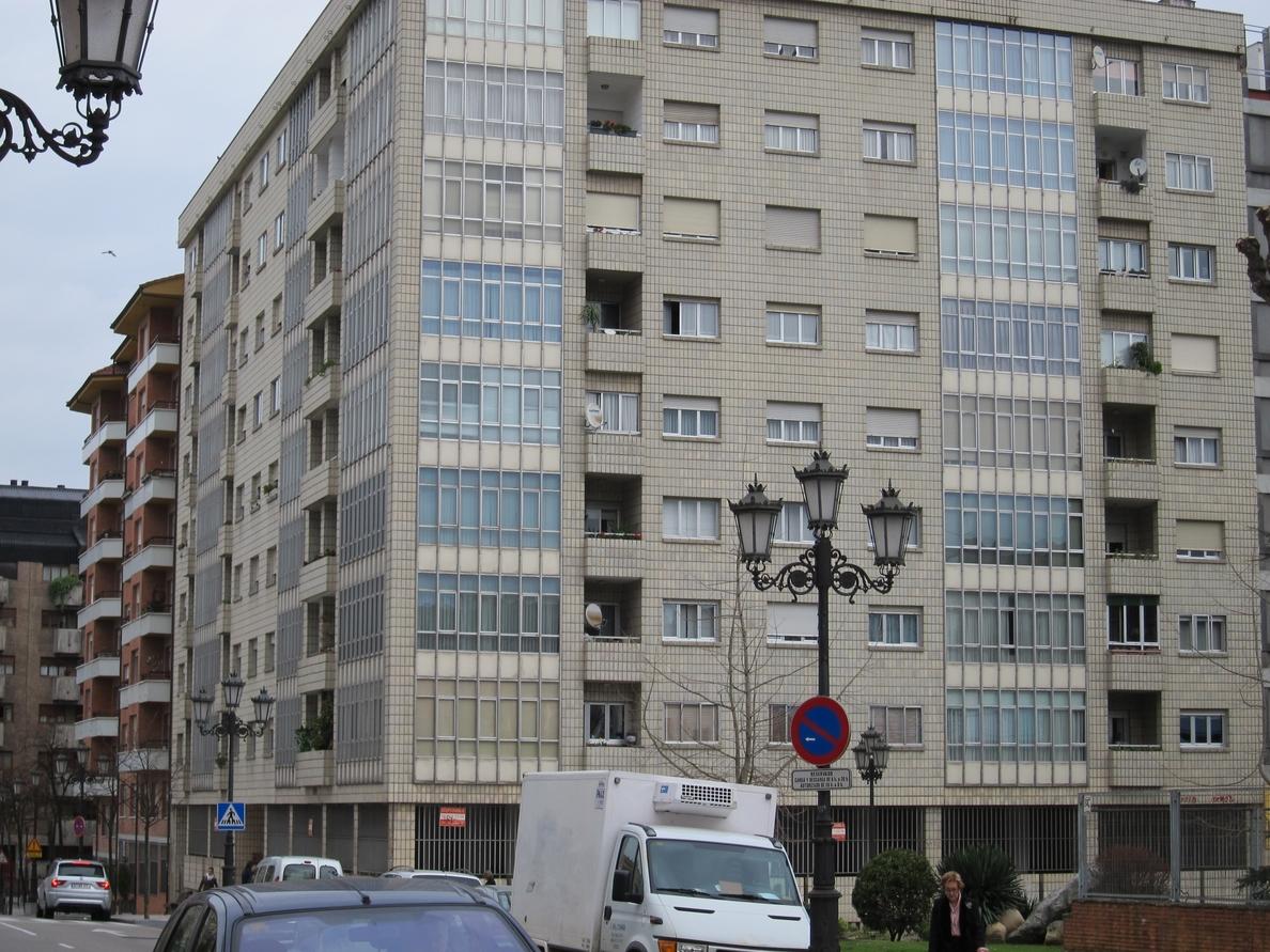El precio de la vivienda en Oviedo cae un 14,02% en los últimos seis meses