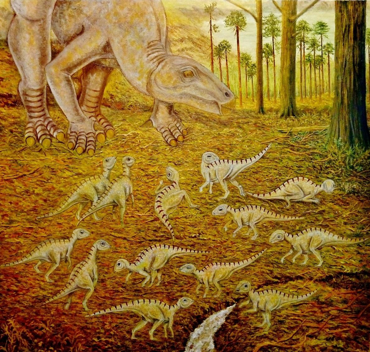 Paleontólogos de la Fundación Dinópolis definen una nueva especie de Iguanodon en Galve (Teruel)