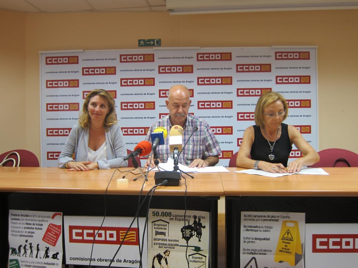 Antonio Ruda (CC.OO.) afirma que la industria turística crece pero el empleo se precariza