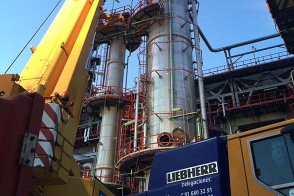 Cepsa emplea más de 2.000 trabajadores diarios durante la parada programada de una planta en Huelva