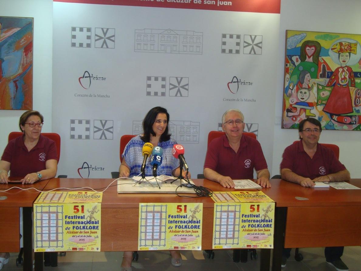 Este viernes arranca el 51 Festival Internacional de Folclore de Alcázar de San Juan (Ciudad Real)