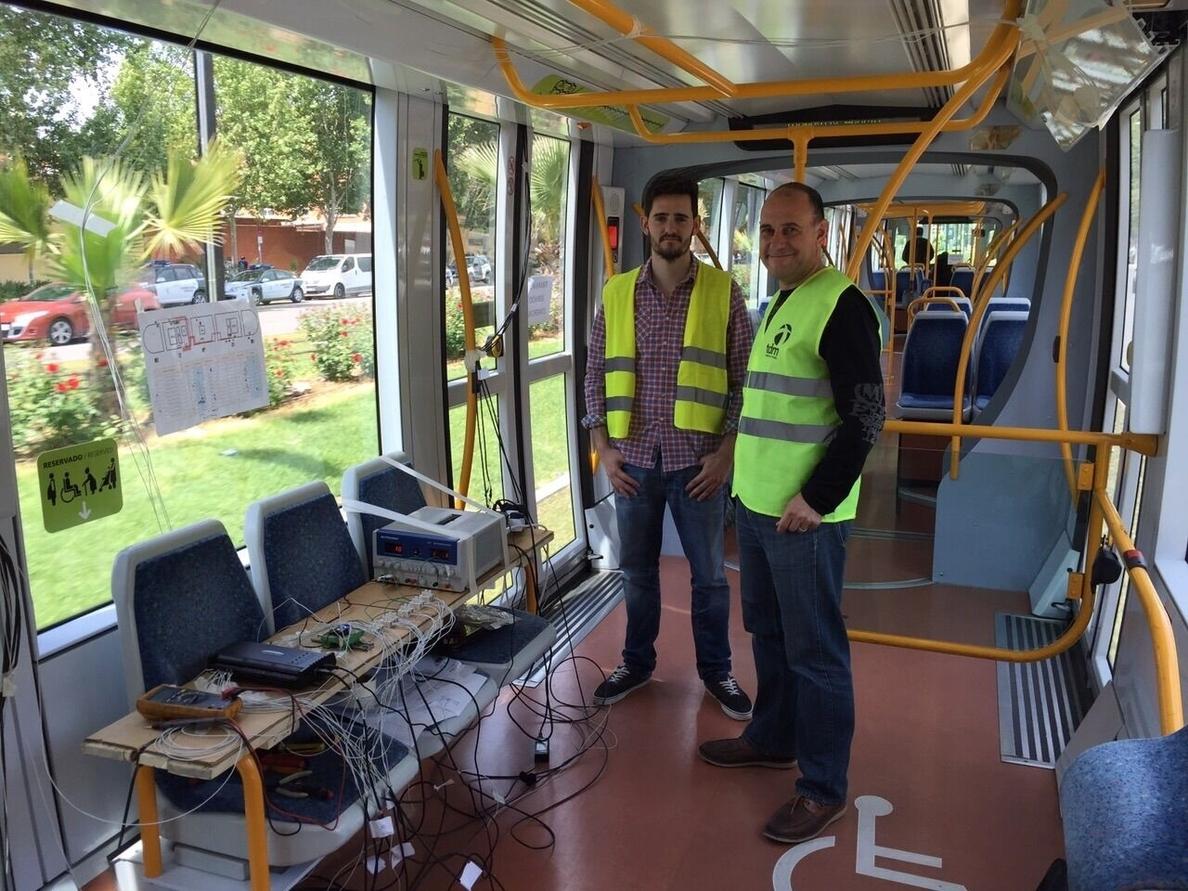 Un alumno de Ingeniería Eléctrica en la UPCT analiza el consumo y eficiencia energética del Tranvía de Murcia