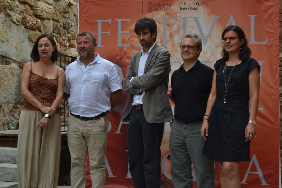 José María Pou, Lolita, Pastora Vega, María Galiana y Gorka Otxoa, en el cartel de Sagunt a Escena