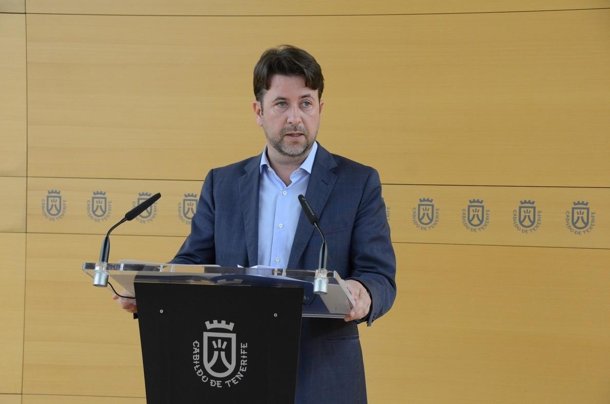 Alonso desvincula los pactos del Cabildo de Tenerife y La Laguna y valora la «seriedad» de Abreu