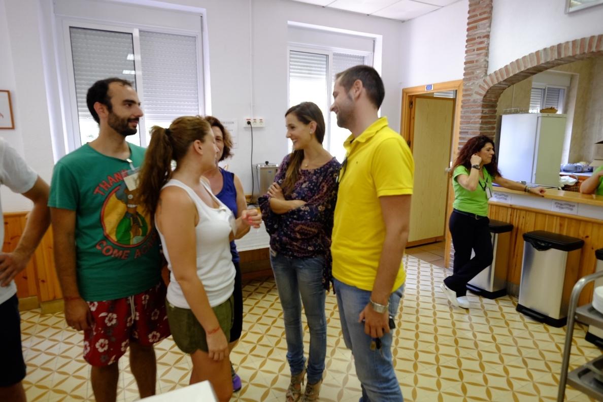 Alrededor de 50 personas cierran el programa de Dinamizadores Juveniles con su segundo campamento en La Noria