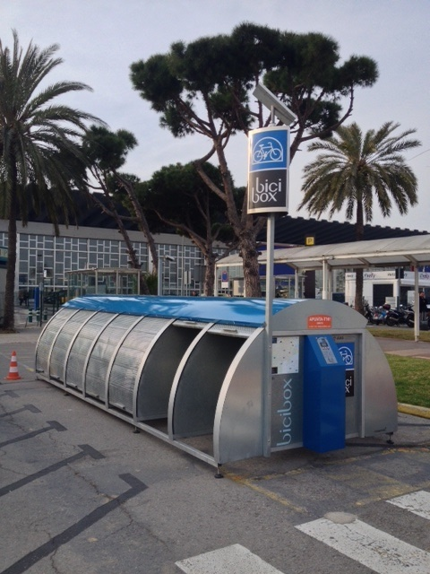 El Bicibox del Aeropuerto de Barcelona acoge más de 800 bicicletas en lo que va de año