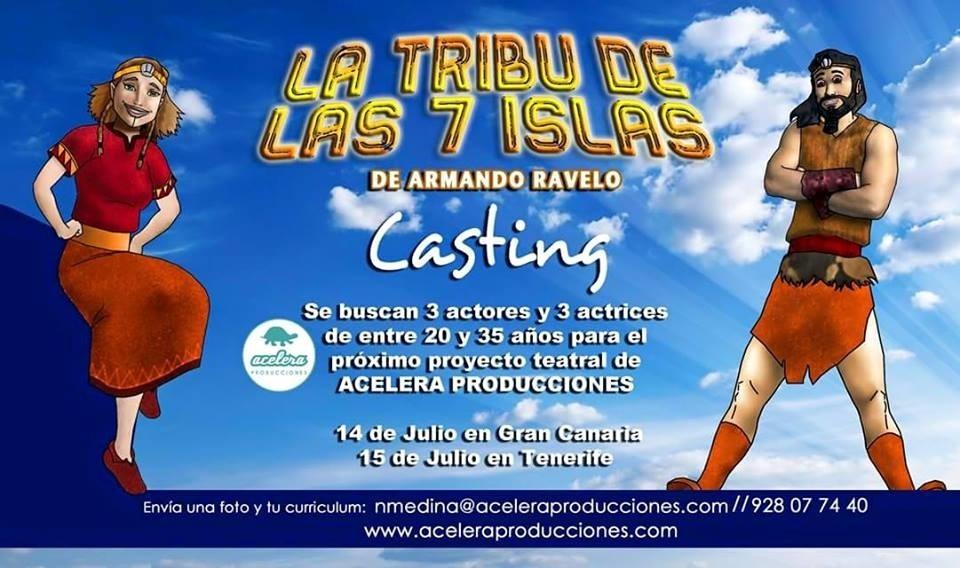 Buscan actores para la obra de teatro »La tribu de las 7 islas»