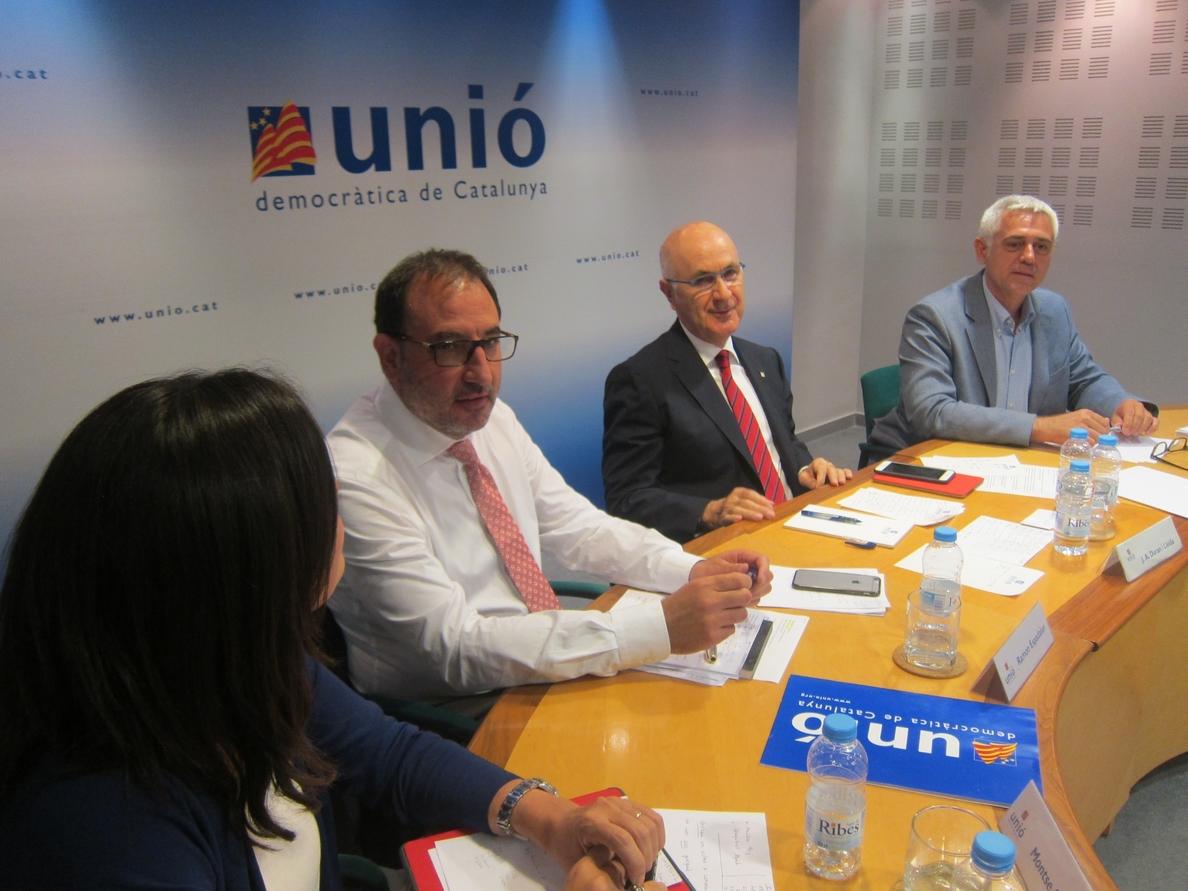 Duran erige UDC como la alternativa al «populismo de la independencia exprés»
