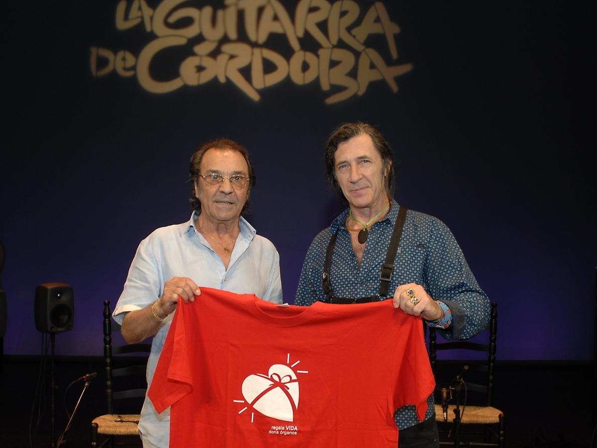 Pepe Habichuela y Jorge Pardo apoyan la campaña de promoción de la donación del Hospital Reina Sofía