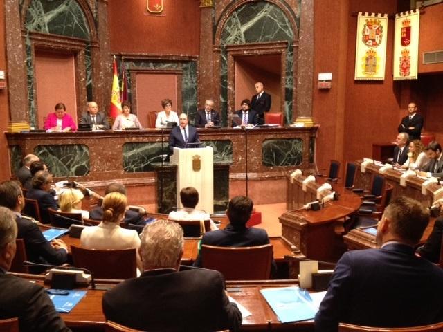 Hoy toma posesión de su cargo el nuevo presidente de Murcia