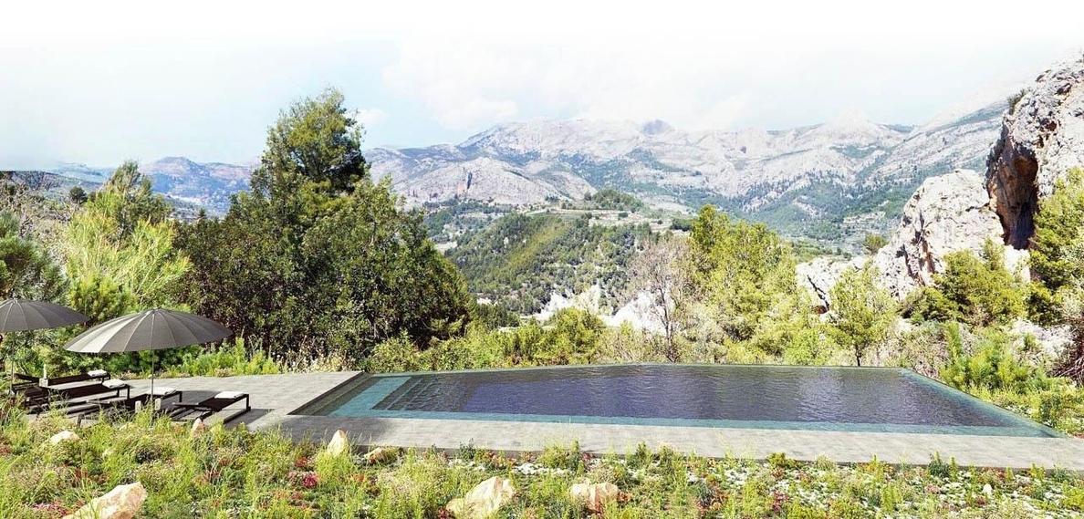 La red de destinos turísticos sostenibles que apoya Juan Roig inaugura en Benimantell el primer Hotel Paisaje de España