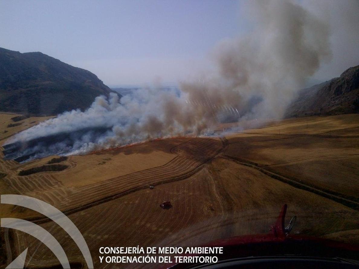La Junta alerta de nuevo del riesgo de incendios por las elevadas temperaturas a partir de hoy