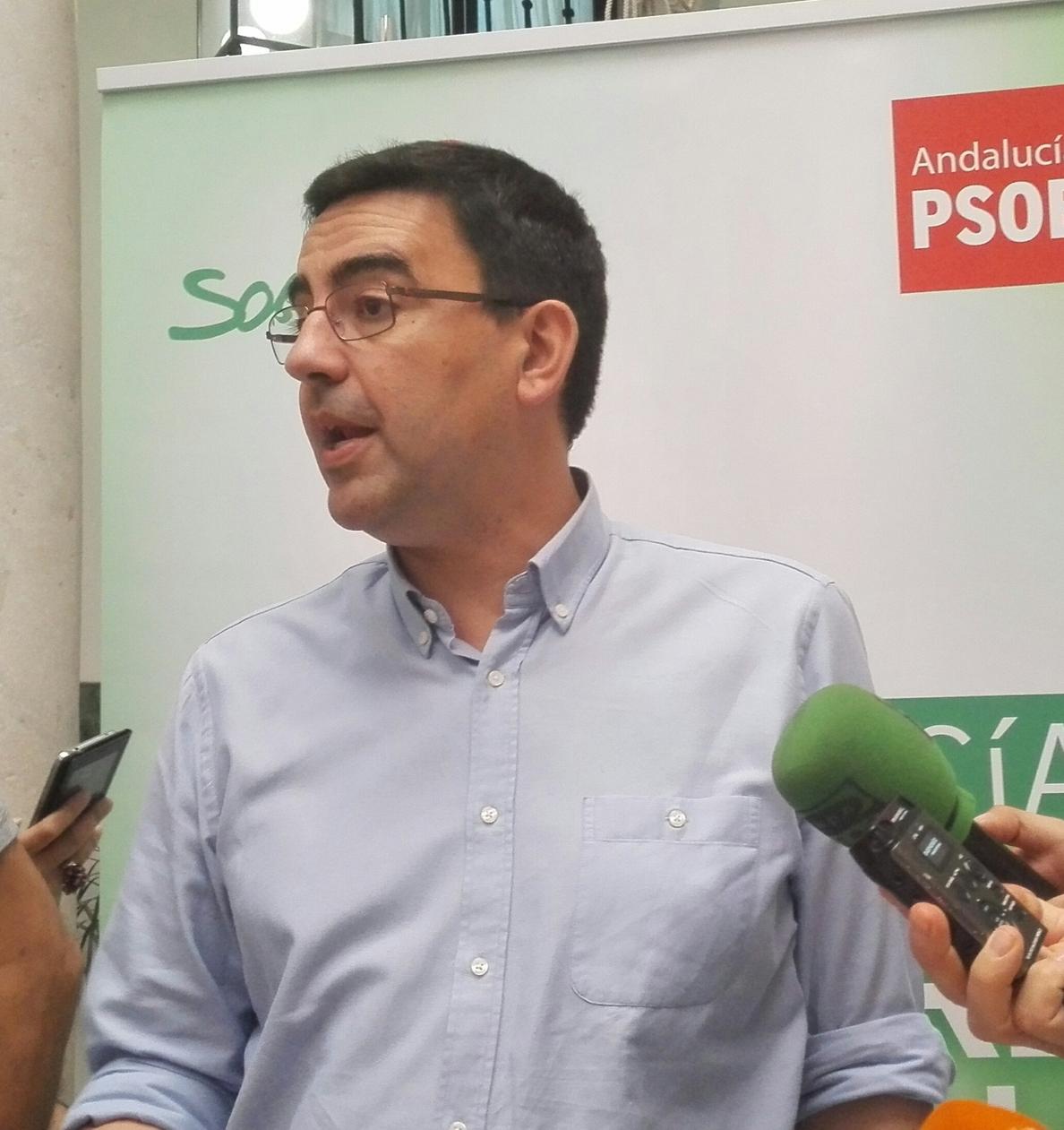 PSOE-A estudia pedir una comisión de investigación en el Parlamento sobre «la posible financiación ilegal» del PP