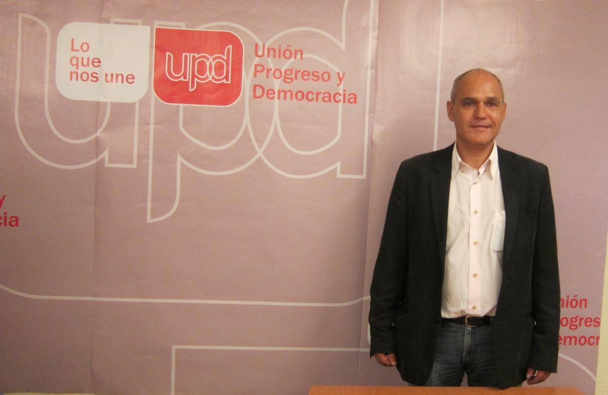 Rueda (UPyD) achaca la situación de su partido a la división interna y a la «imagen antipática» de Rosa Díez