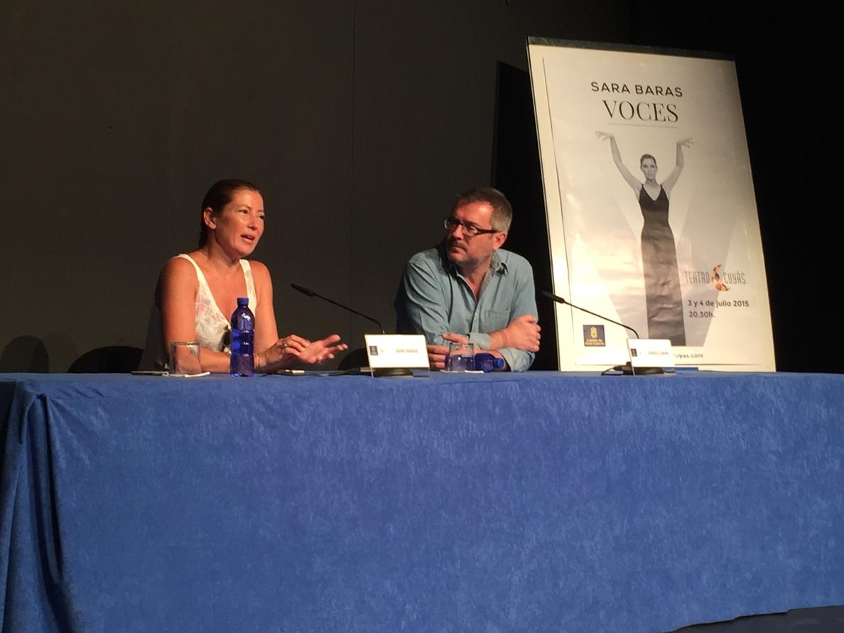 Sara Baras agota las entradas de Voces en Gran Canaria, un espectáculo basado en «el regalo de los maestros»
