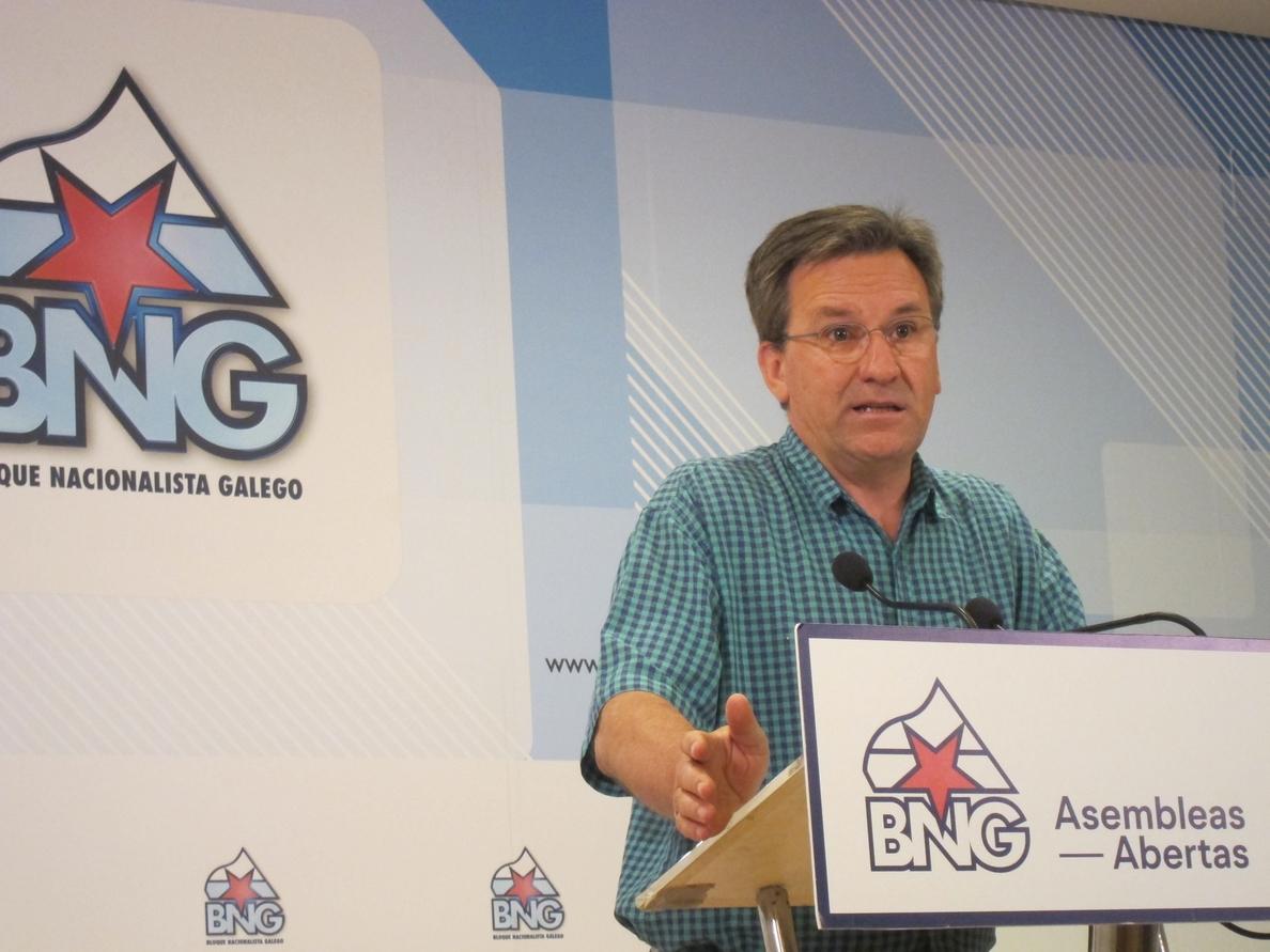 Vence (BNG) advierte de que la candidatura que «necesita» Galicia es «todo lo contrario a lo que propone» Pablo Iglesias