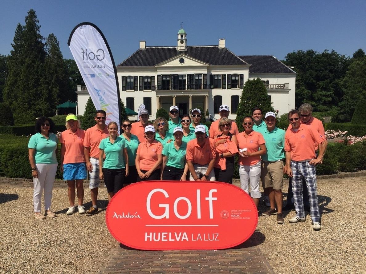 La Asociación de Campos de Golf de Huelva afianza contactos en Gran Bretaña y Holanda