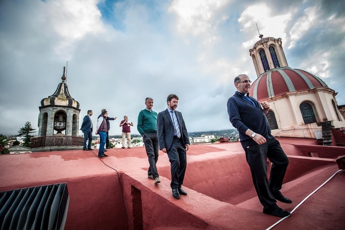 Culmina la restauración de la cubierta de la iglesia de La Concepción de La Orotava (Tenerife)