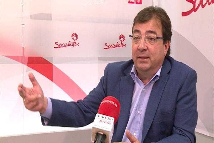 Fernández Vara toma posesión este sábado como presidente de la Junta de Extremadura