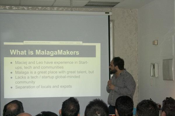 Emprendedores tecnológicos crean en Málaga la primera comunidad en inglés para compartir idea y conocimiento