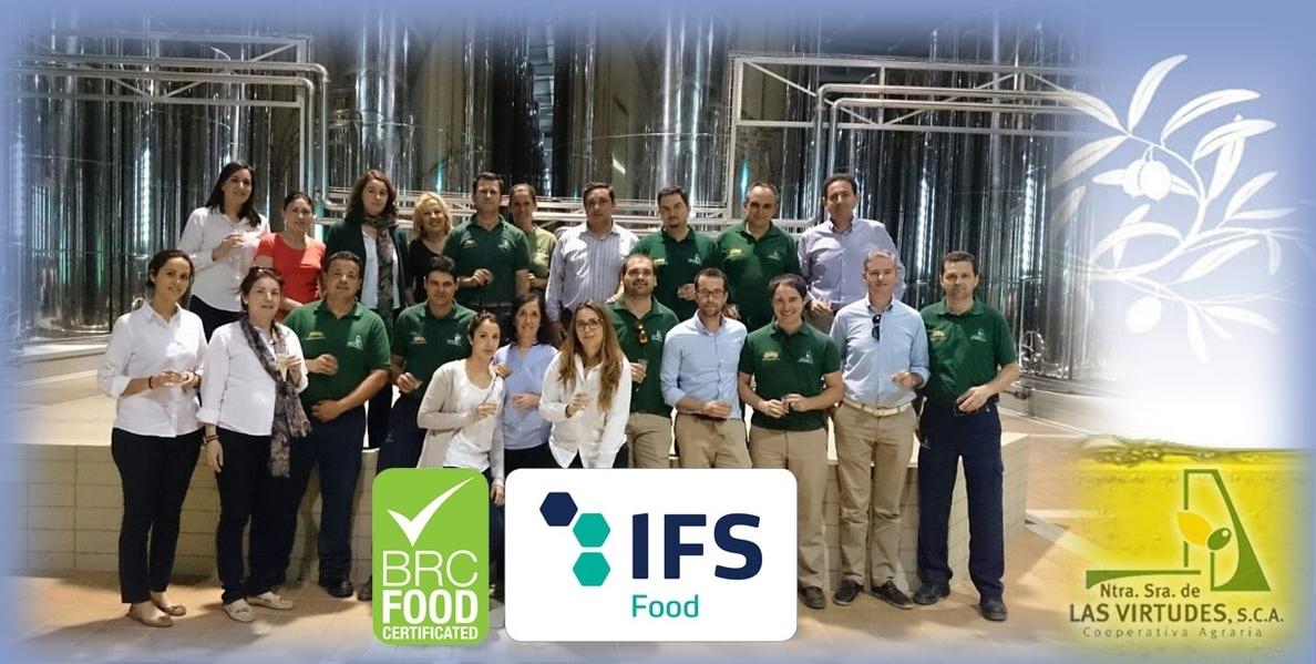 Certificaciones internacionales avalan la calidad de la cooperativa olivarera »Nuestra Señora de las Virtudes»