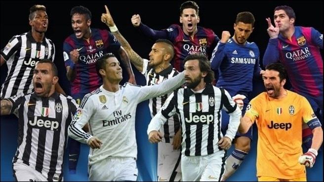 Messi, Cristiano, Neymar y Luis Suárez, finalistas del premio al Mejor Jugador de Europa UEFA