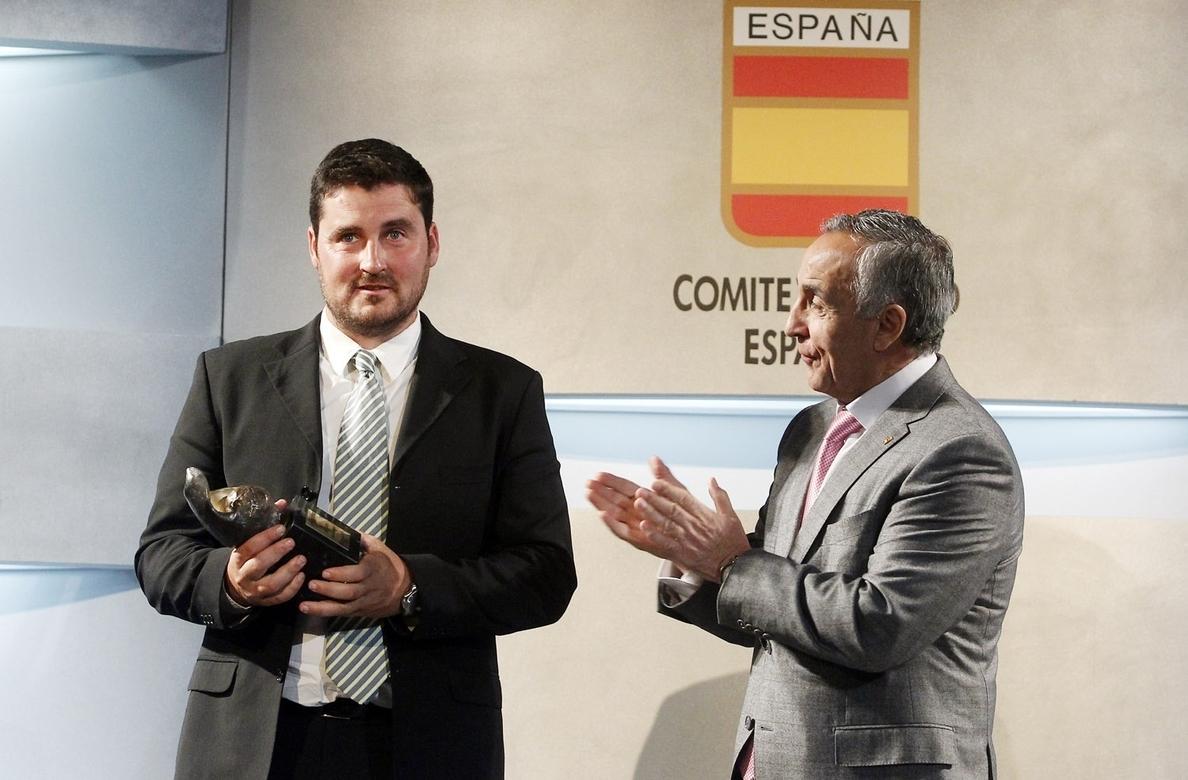 David Cal recibirá la Medalla de Oro de Galicia 2015