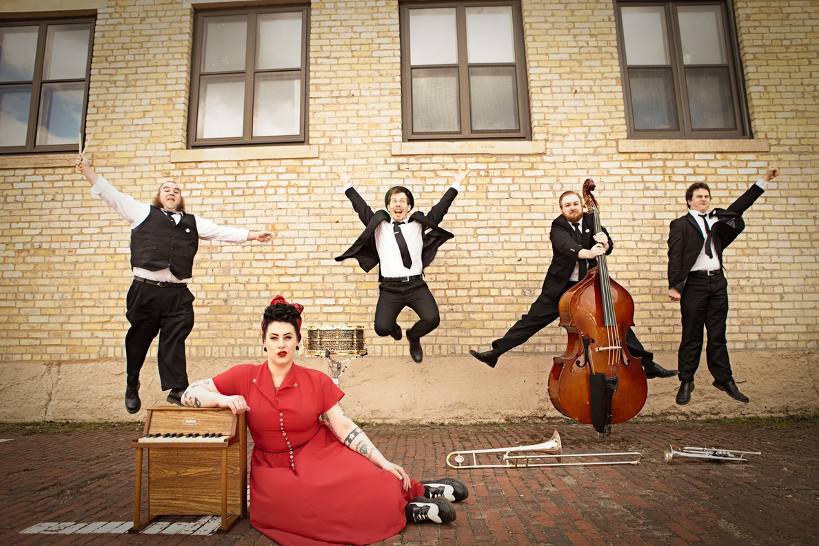 Davina and The Vagabonds abren este jueves el Getxo & Blues
