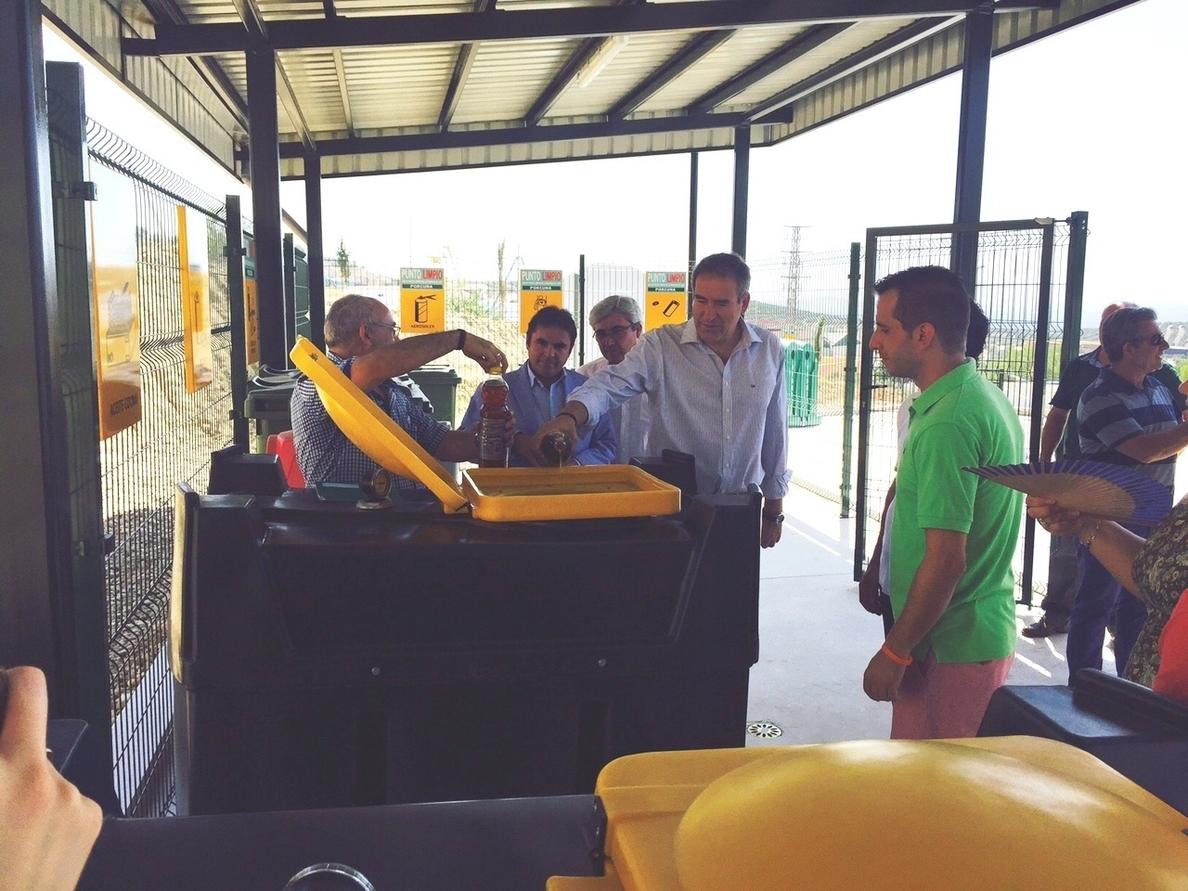 La Junta invierte 360.000 euros en el punto limpio de Porcuna que beneficiará a más de 13.000 habitantes