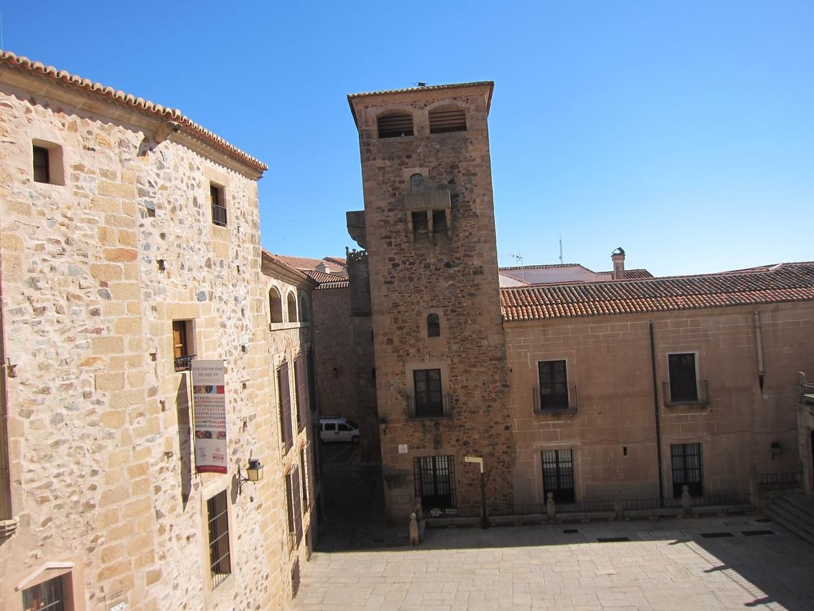 El Palacio de los Golfines de Abajo en Cáceres se puede visitar a partir del 10 de septiembre
