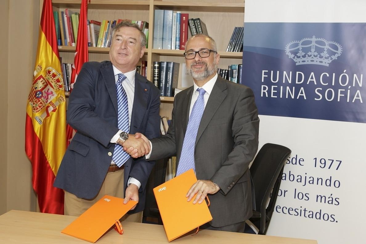 RTVE acuerda con la Fundación Reina Sofía colaborar en la difusión de proyectos contra el Alzheimer
