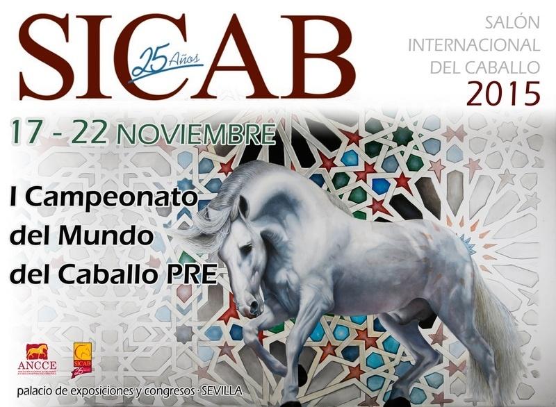 Sicab 2015 acogerá el I Campeonato del Mundo del Caballo de Pura Raza Española