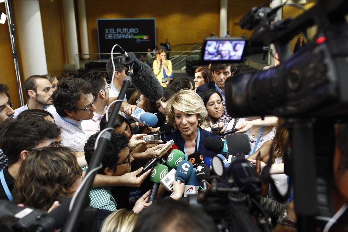 Aguirre sobre »Versión Original»: «Establecer una versión de la verdad está fuera de lugar en democracia»