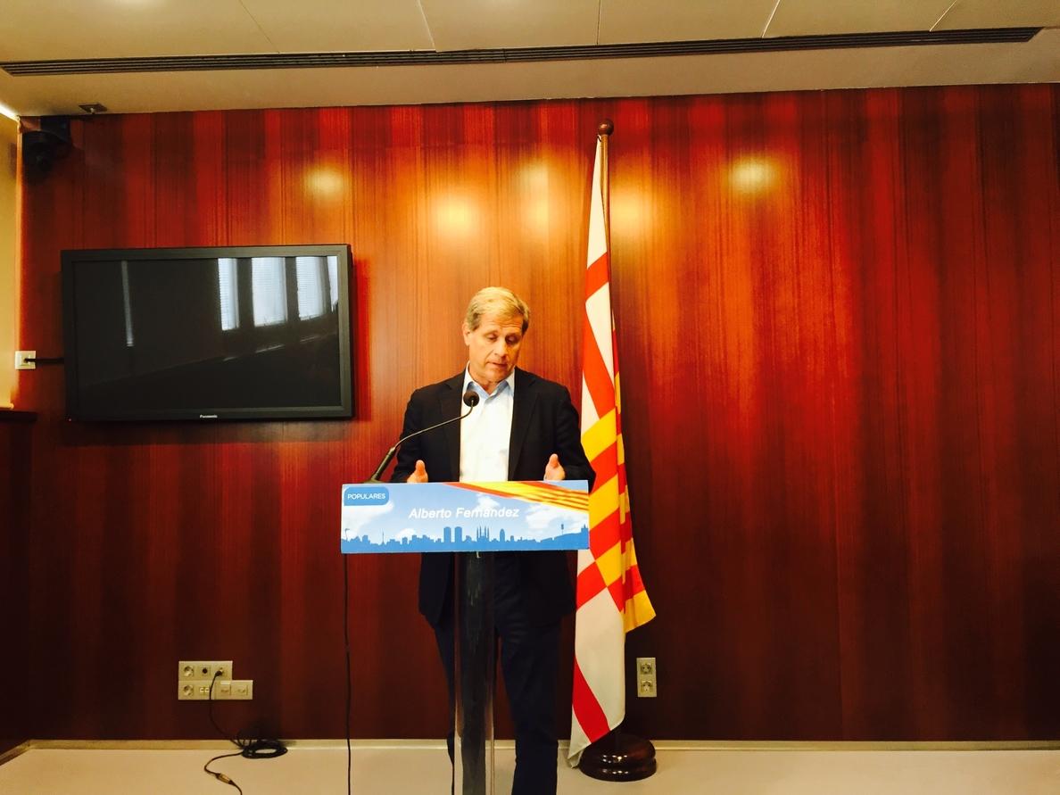 Alberto Fernández (PP) ve «sectario y malintencionado» prohibir la misa en el castillo de Monjuïc