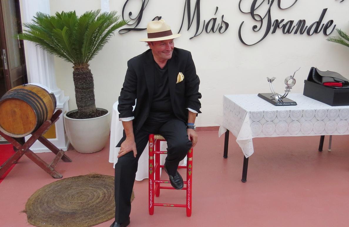 Amador Mohedano, de Rosa Benito: «Ha sido lo mejor que me ha pasado en la vida»
