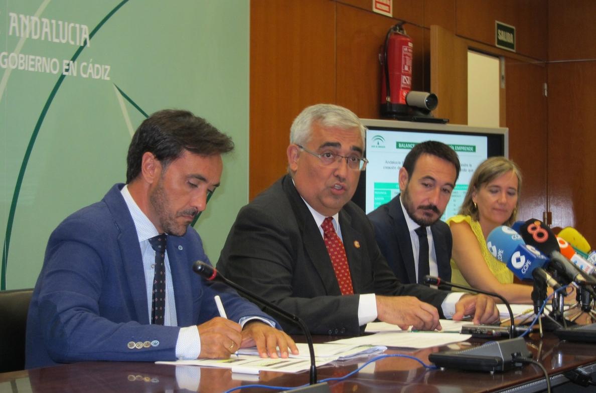 Andalucía Emprende apoya la creación de más de 9.500 empresas y de 12.000 empleos en el primer semestre del año