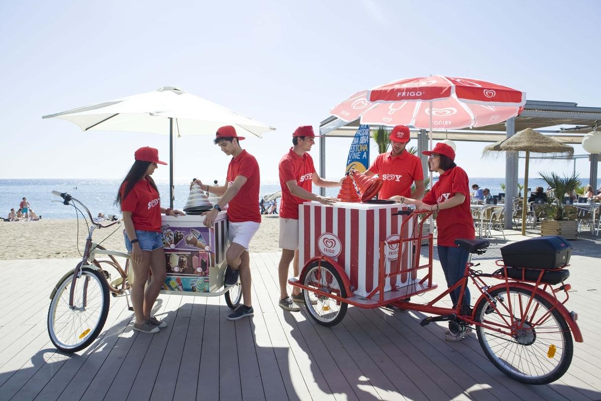 Andalucía se suma al proyecto »Soy Frigo» para generar empleo, con 56 puestos en puntos de venta de helados