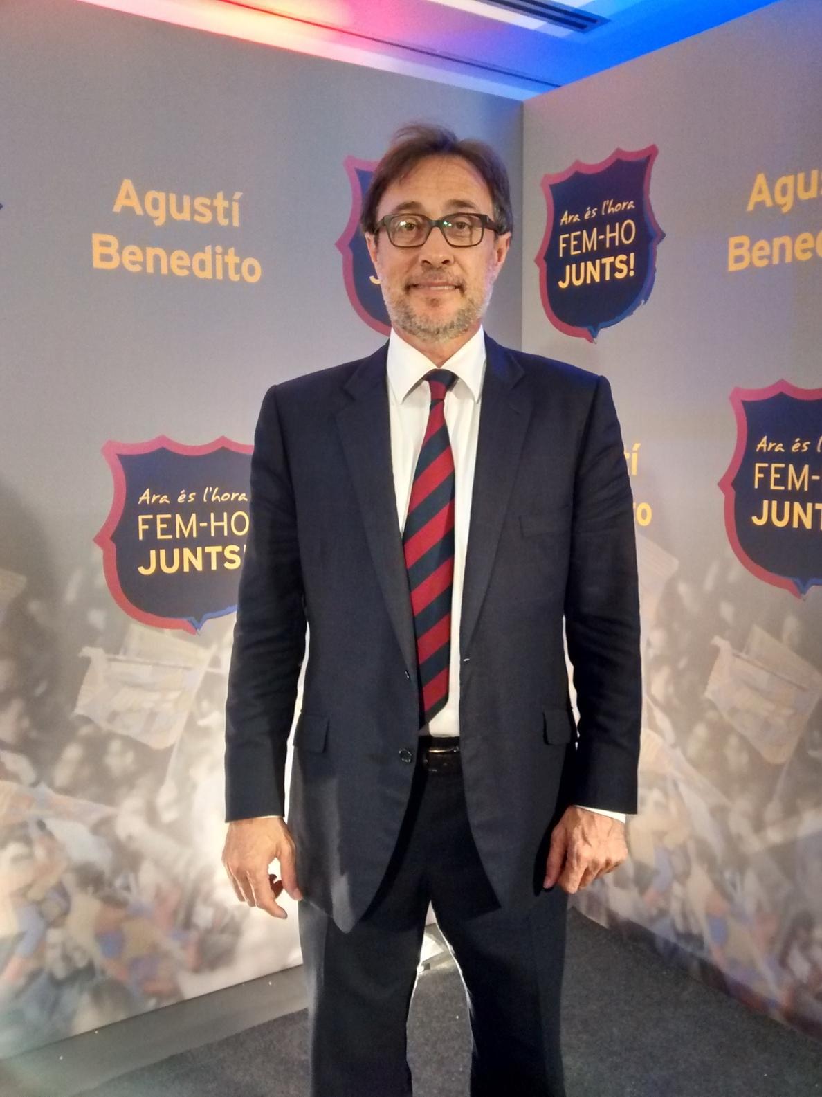 Benedito: «Creo que ganaremos»