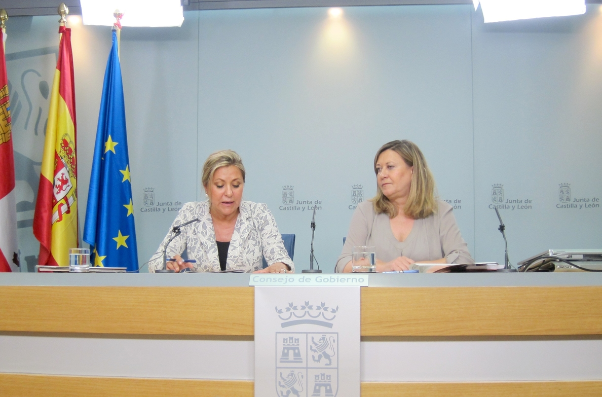 CyL defiende que ha destinado al fuego de Quintana del Castillo (León) «todos los recursos necesarios»
