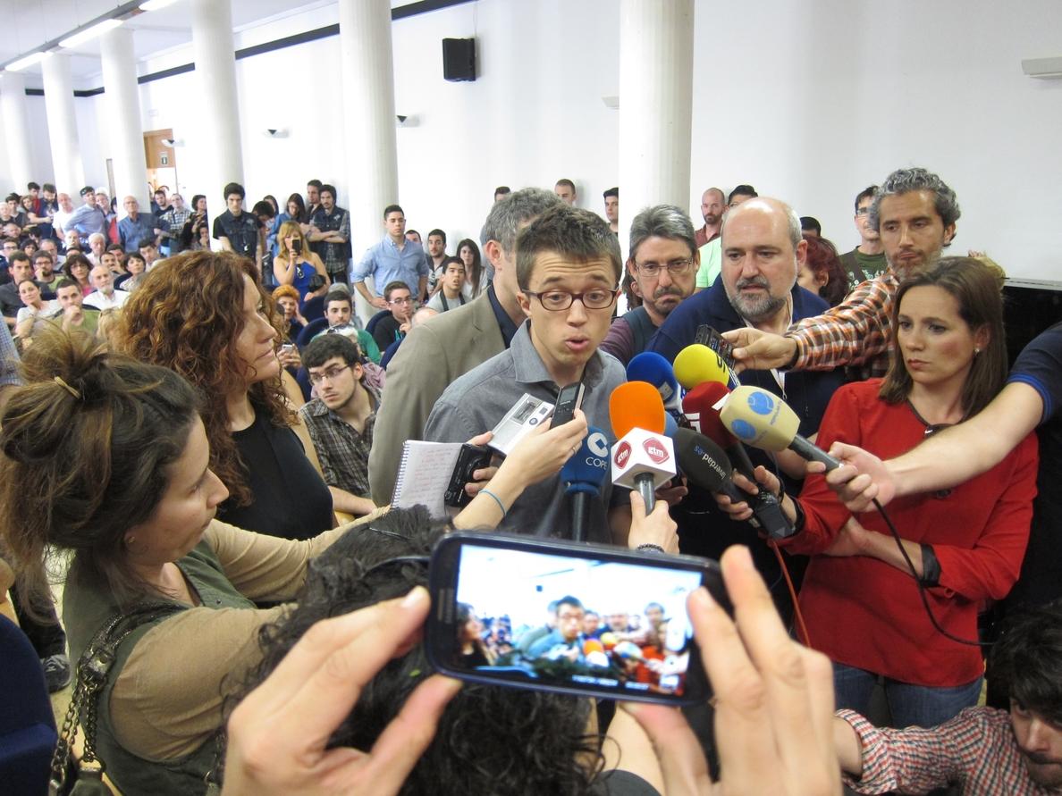 Errejón defiende la web »Versión Original» porque ayuda a la transparencia y a un «diálogo abierto»