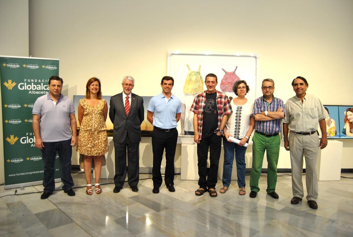 Ana Escribano, con la obra »Gemelos», Premio de Artes Plásticas »Ayuntamiento de Albacete» 2015