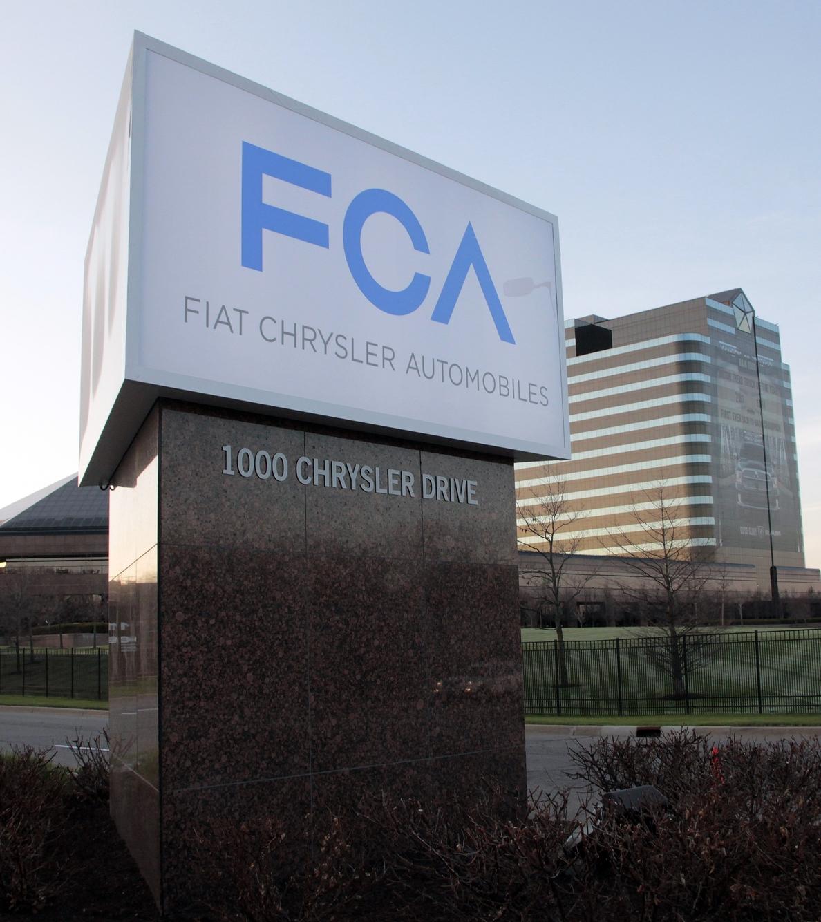 Fiat Chrysler aumenta un 12,6% sus ventas de enero a junio