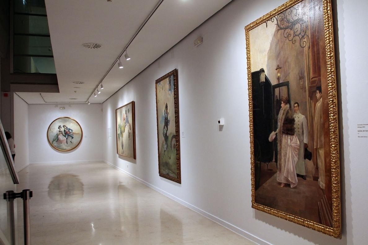 La Fundación Unicaja expone en la capital 68 obras costumbristas que reflejan la vida en el siglo XIX