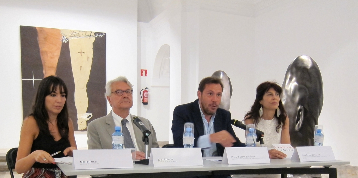 Las obras de 13 artistas procedentes de la Galería LeLong de París y Nueva York se exponen en Valladolid